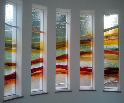 Kapelle-Meggenhofen, Glaskunst, Fusingglas
