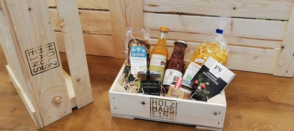 Holzhaus E1ns Geschenkkiste